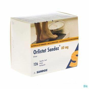 orlistat-sandoz-126-gelules-x-60-mg