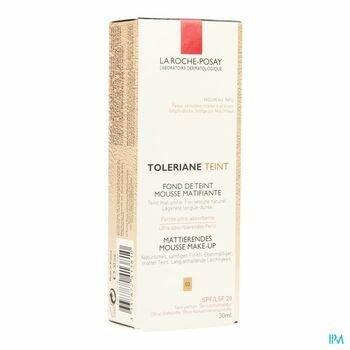 la-roche-posay-toleriane-fond-de-teint-mousse-matifiante-03-30-ml