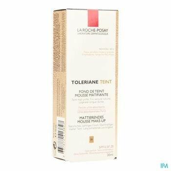 la-roche-posay-toleriane-fond-de-teint-mousse-matifiante-04-30-ml
