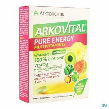 arkovital-pure-energy-30-comprimes