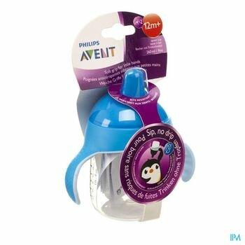 avent-gobelet-anti-fuite-pinguin-bleu-260-ml-a-partir-de-12-mois