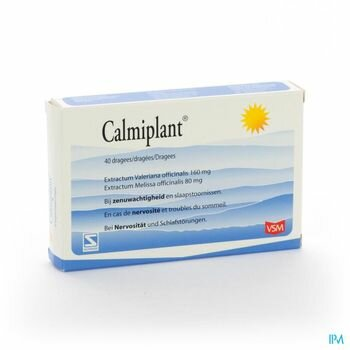 calmiplant-vsm-40-dragees