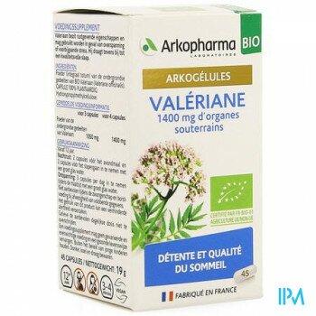 arkogelules-valeriane-bio-45-gelules